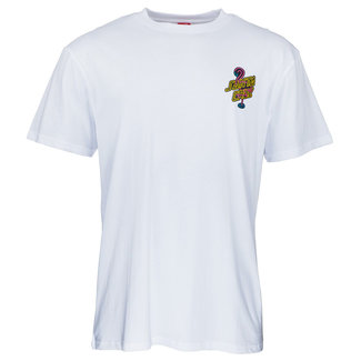 Santa Cruz T-Shirt Glow Dot T-Shirt White