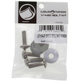"Liquid Force 1/4-20 Binding Bolts + Washers 3/4"" (4)"