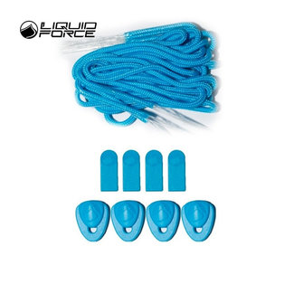 Liquid Force Lace Kit Cyan