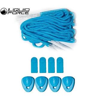 Liquid Force Lace Kit Cyan
