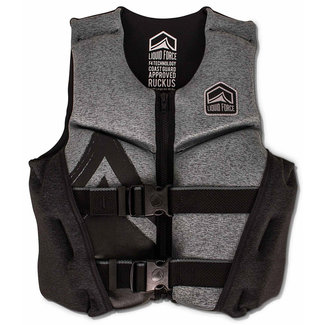 Liquid Force Ruckus Youth CGA Life Jacket Black/Heather