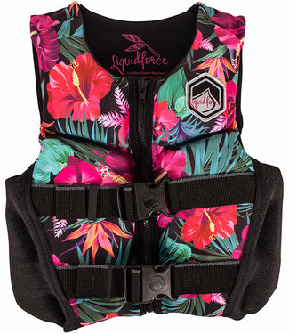 Liquid Force Lanai Youth CGA Life Jacket Tropical