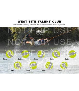 Wakeboard Talent Club Beurtenkaart