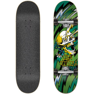 "Flip Oliveira Blast Green 7.75"" Complete Skateboard"