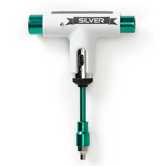 Silver Premium Skatetool 10Yrs White