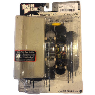 Tech Deck Tech Deck Starter Set + 2 minisk8 Tech Deck Traffic Block