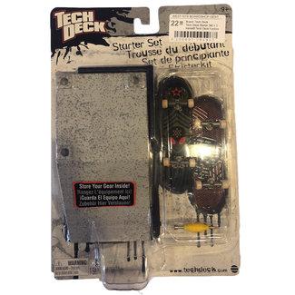 Tech Deck Tech Deck Starter Set + 2 minisk8 Tech Deck Bank