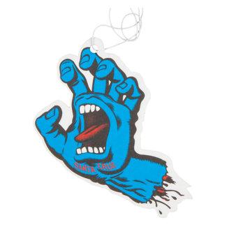 Santa Cruz Screaming Hand Blue Air Freshener