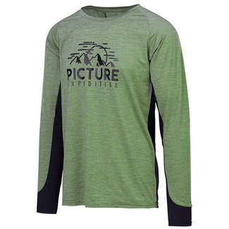 Picture Hoper L/S Tech Tee Kaki