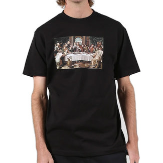 Pizza Skateboards Last Supper Black T-Shirt