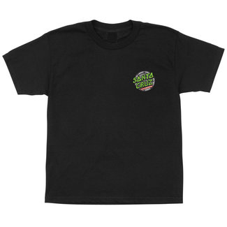 Santa Cruz TMNT Youth Black T-Shirt