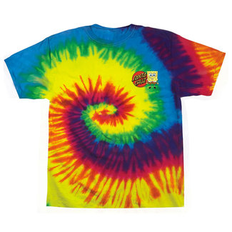 Santa Cruz Sponge Group Rainbow Youth T-Shirt