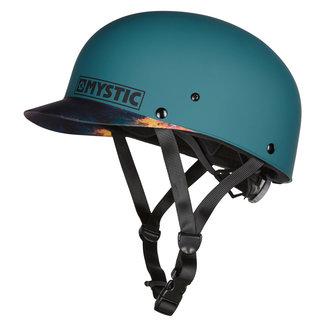 Mystic Shiznit Teal Helmet