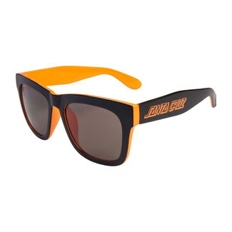 Santa Cruz Dazed Sunglasses Black/Fluro Orange