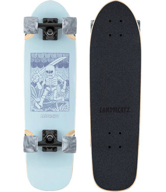 "Landyachtz Dinghy Adventure Skeleton 29"" Complete Cruiser"