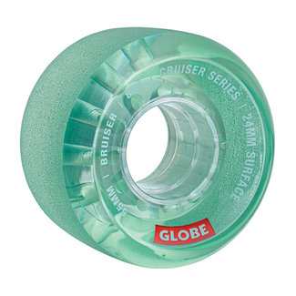 Globe Bruiser Wheels 55mm 83A Clear Aqua
