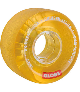 Globe Bruiser Wheels 58mm 83A Clear Honey