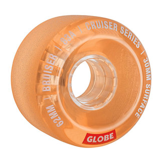 Globe Bruiser Wheels 62mm 83A Clear Colar