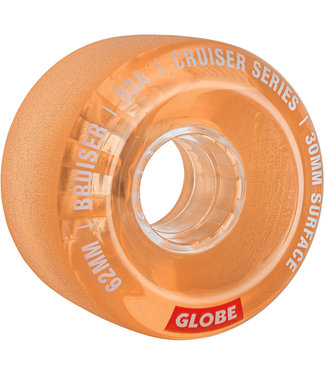 Globe Bruiser Wheels 62mm 83A Clear Coral