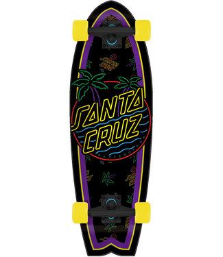 "Santa Cruz Glow Dot 27.7"" Cruiser Complete"