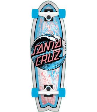 Santa Cruz Wave Dot 27.5 Complete Cruiser Blue/White