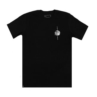 Liquid Force Tee Wake Or Die Black