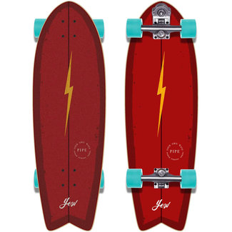 "YOW Pipe 32"" Power Surfing Series Yow Surfskate"