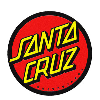 Santa Cruz Classic Dot Mat Red Yellow