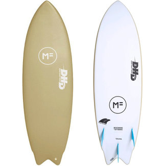 Mick Fanning Softboards DHD Twin 5'8 Soy Future 3 Fin Box