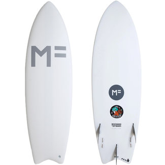 Mick Fanning Softboards Catfish 5'10 White FCS II 5 Fin Box