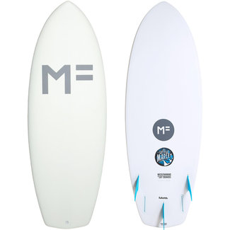 Mick Fanning Softboards Little Marley 5'8 White Futures 5 Fin Box
