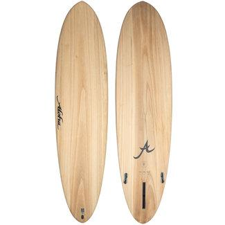 Aloha Surfboards Fun Division Mid 7'0 EcoSkin Wood FCS II 3 Fins