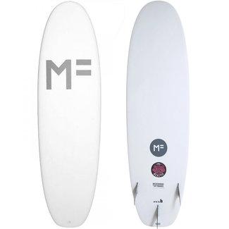 Mick Fanning Softboards Beastie 6'6 White FCS II 3 Fins