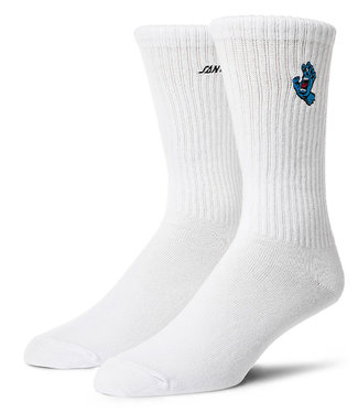 Santa Cruz Screaming Mini Hand Sock White 42-46