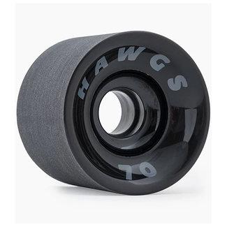 Hawgs Supreme Cruiser Wheels Black 70mm 78A