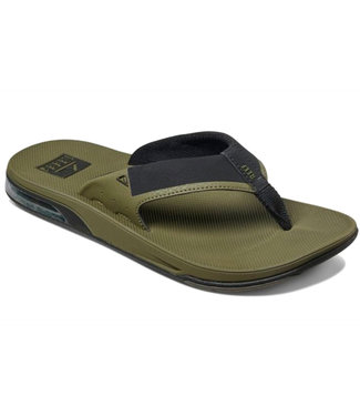 Reef Fanning Low Slipper Olive