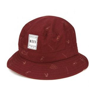Trouty Bucket Hat Maroon