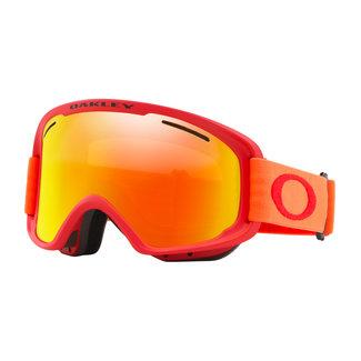 Oakley O-Frame 2.0 PRO XM Goggles Red Neon Orange