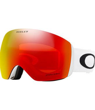 Oakley Flight Deck Goggles Matte White Snow Torch