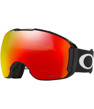 Oakley Airbrake XL Goggles Jet Black Snow Torch + Extra Lens
