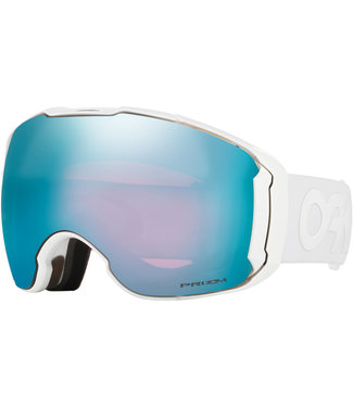 Oakley Airbrake XL FP Goggles Whiteout Snow Sapphire + Extra Lens