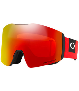 Oakley Fall Line XL Goggles Red Snow Torch