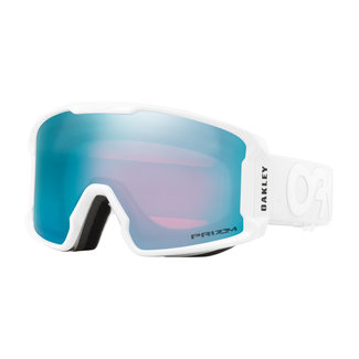 Oakley Line Miner XM FP Goggles Whiteout Snow Sapphire