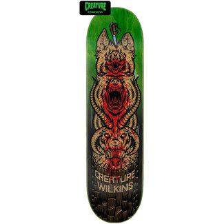 "Creature Wilkins Totem Powerply 8.88"" Skateboard Deck"