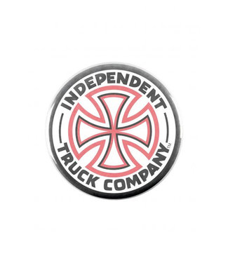 Independent Cross Logo Pin