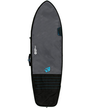 Creatures Of Leisure 7'1 Fish Day Use Surf Boardbag Charcoal Cyan