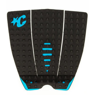 Creatures Of Leisure Mick Fanning Lite Traction Pad Black Cyan