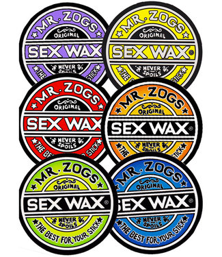 Sex Wax 9' Circular Original Logo Sticker