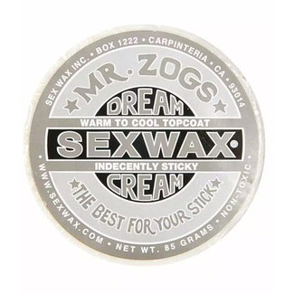 Sex Wax Dream Cream Wax Silver (Topcoat only for Cold & Cool Water)