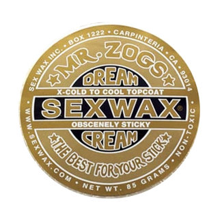Sex Wax Dream Cream Wax Gold (Topcoat only for Icecold & Cold water)
